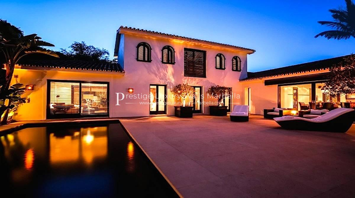 Contemporary Villa for Sale in Los Monteros Marbella